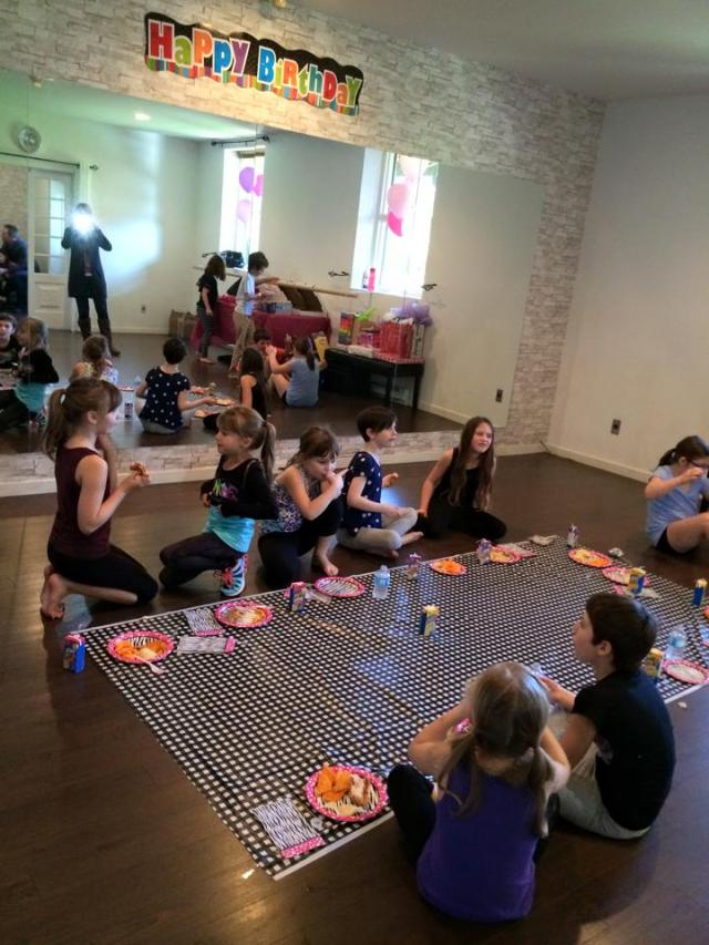 LT Dance Studio kids dance birthday party shawnigan lake
