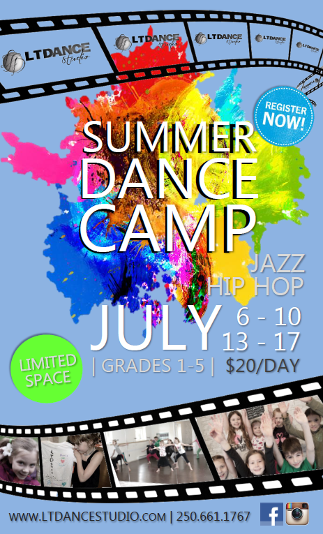 SUMMER CAMP SHAWNIGAN LAKE KIDS LT DANCE STUDIO